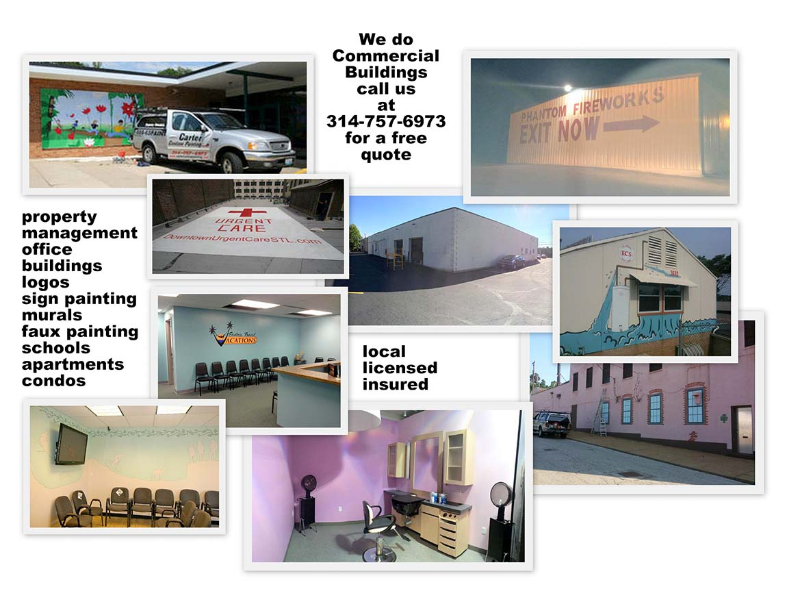 We do commercial painting.