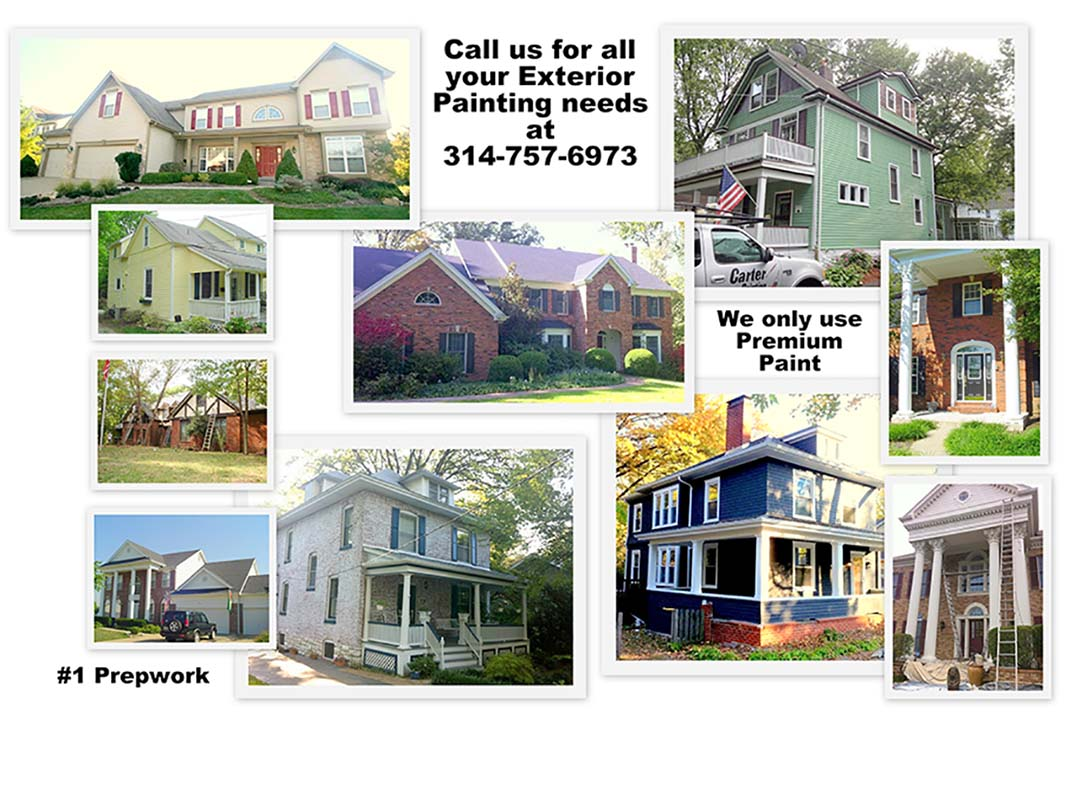 High Quality, Long Lasting Exterior Painting!